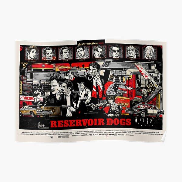 Chiens de réservoir (HD) Poster