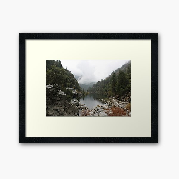 Feather River Canyon  Framed Art Print