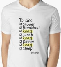TO DO: READ Men's V-Neck T-Shirt