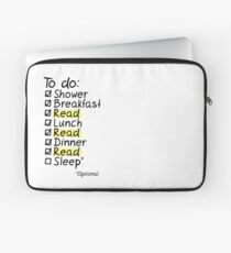 TO DO: READ Laptop Sleeve