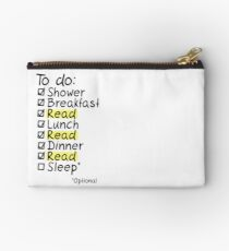 TO DO: READ Studio Pouch