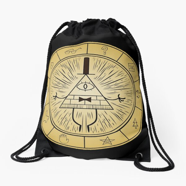 Gravity Falls Bill Cipher Wheel Mochila saco