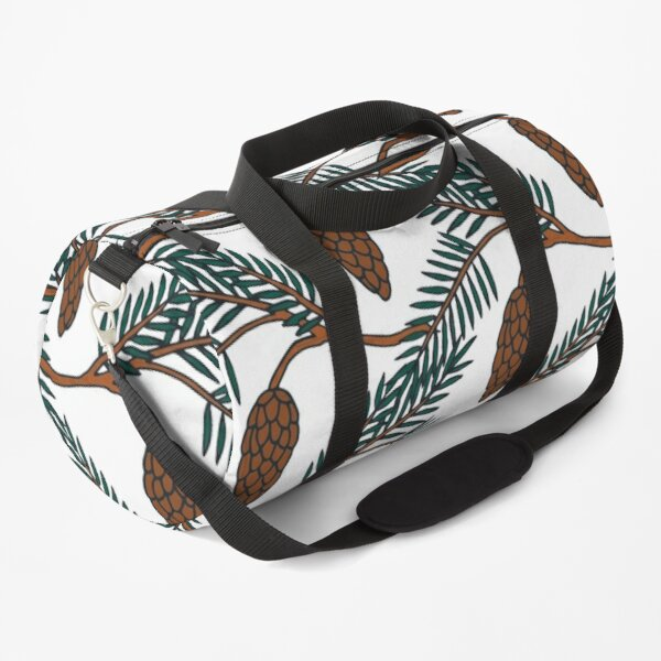 Pine Cone | Pine Tree Pattern | Forest Pattern Duffle Bag
