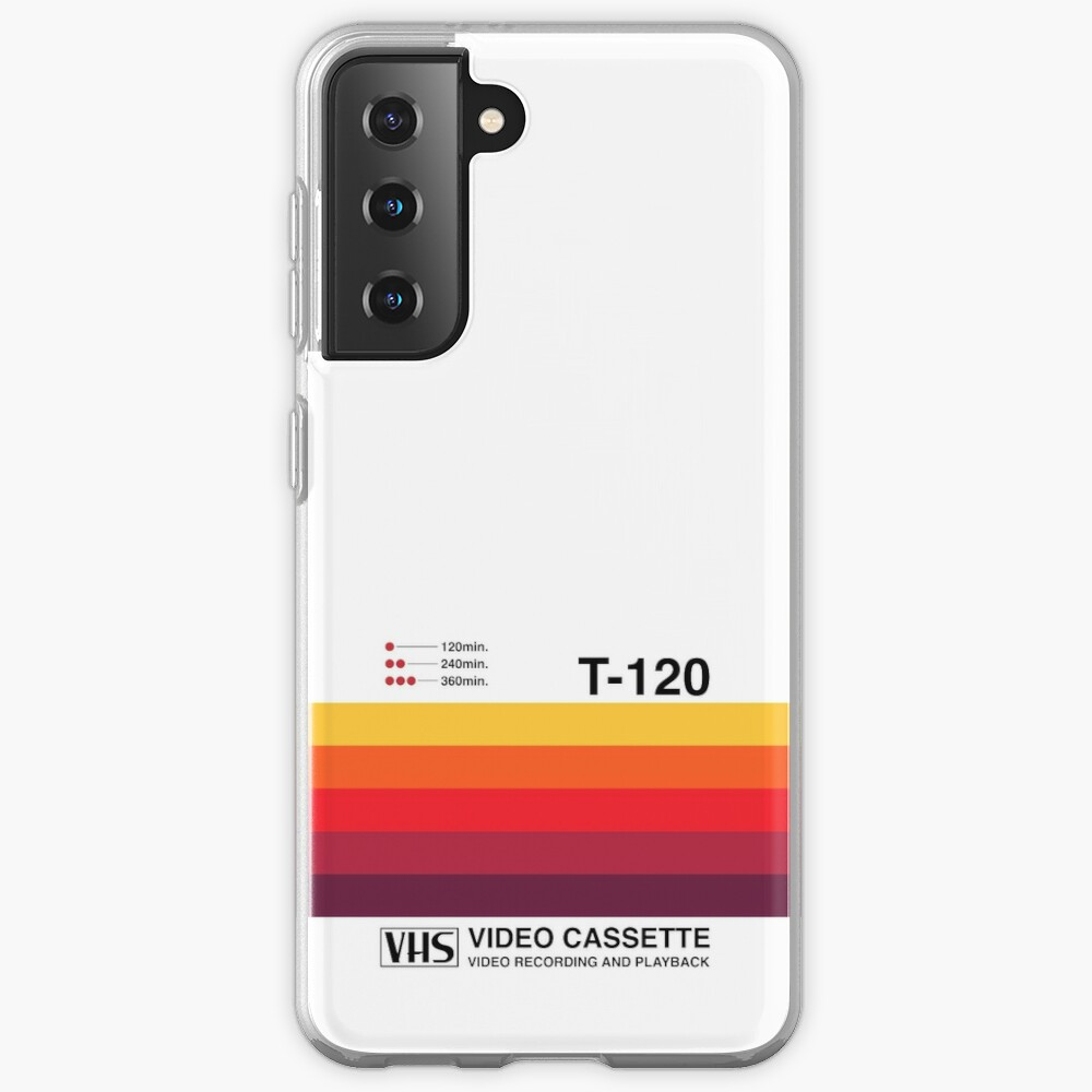 Sunset Video Cassette VHS Case & Skin for Samsung Galaxy