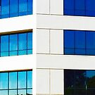 Blue Windows by Chet  King