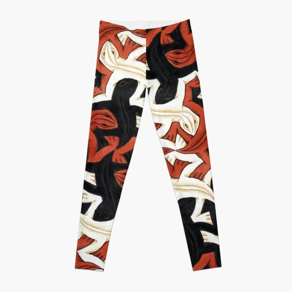 Escher lizard Leggings