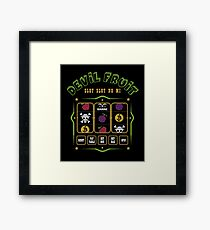 Slot slot no mi Framed Print