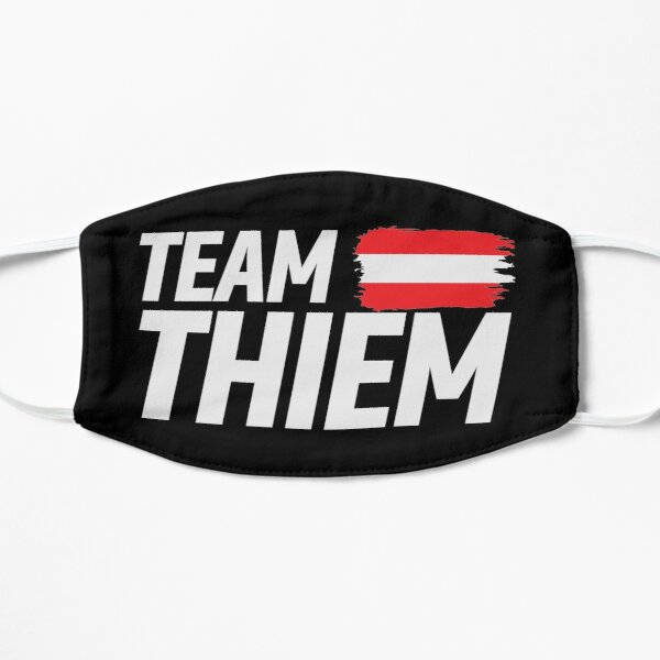 Team Thiem Flache Maske