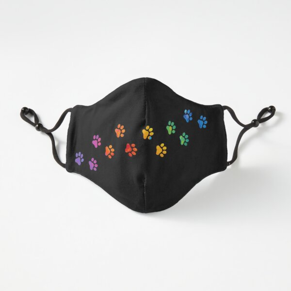 MASK - Watercolor Colorful Fitted 3-Layer