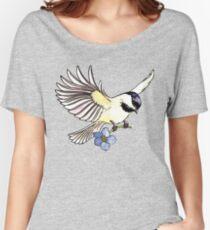 Chickadee  Women's Relaxed Fit T-Shirt