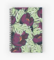 Flower pattern Spiral Notebook