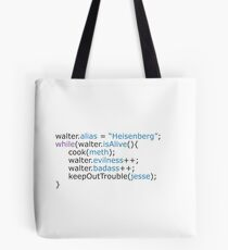 Breaking bad - code Tote Bag