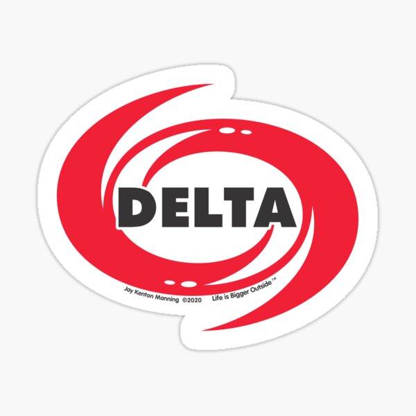 Delta Hurricane Sticker- Weatherproof! Sticker