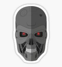 Terminator T-800 - Skull Sticker