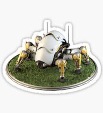 Robot Beetle Sticker