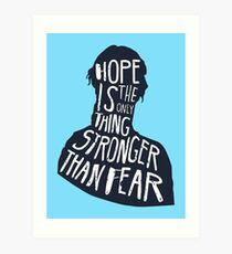 Hunger Games Quote Art Print