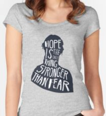 Hunger Games Quote Women's Fitted Scoop T-Shirt