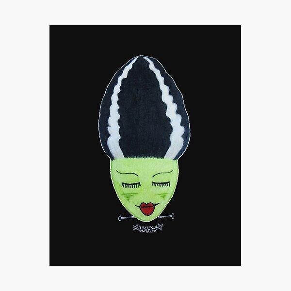 Frankenstein's Bride - Noir Photographic Print
