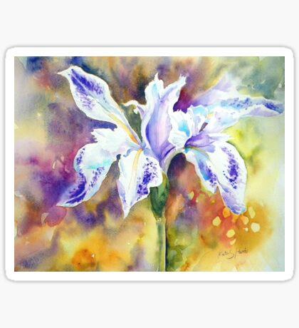 Pond Iris Sticker