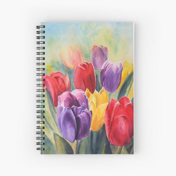 Tulip Rainbow Spiral Notebook