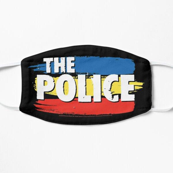 Le logo de la police à trois bandes Masque sans plis