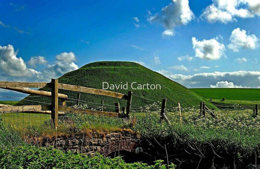 Silbury Hill, Avebury, Wiltshire, UK by David Carton