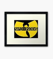 Wukong Top Ain't Nuttin' to **** Wit! Framed Print