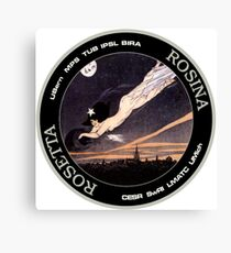 ROSINA (Rosetta Mission) Instrument Program Logo Canvas Print