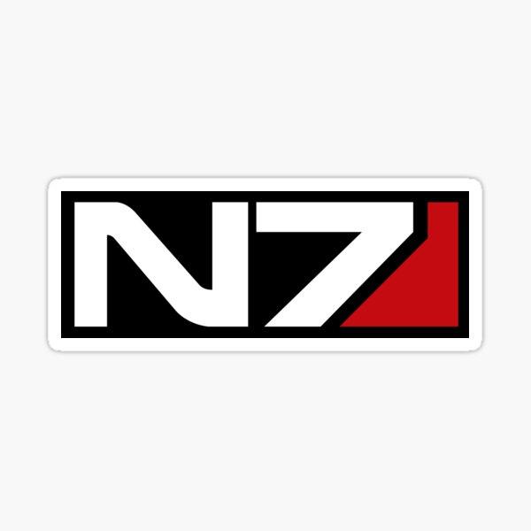 N7 Sticker