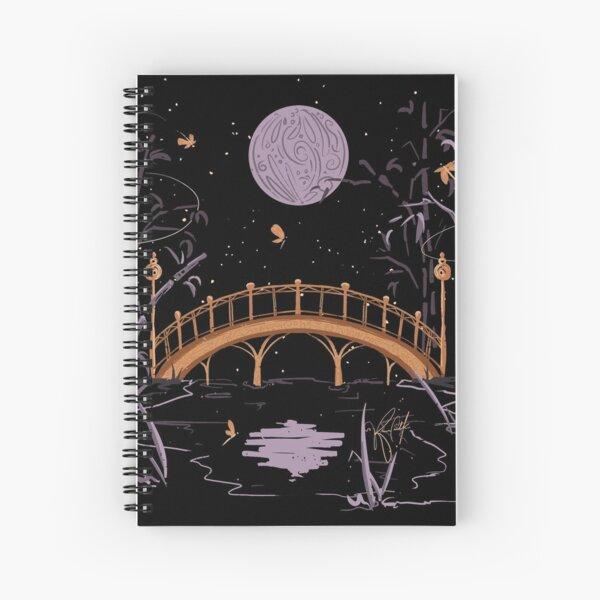 Moon - Inktober 2020 Spiral Notebook