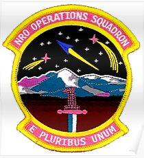 NRO Operations Squadron Poster