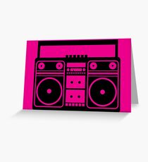 Party Icon - Music Greeting Card