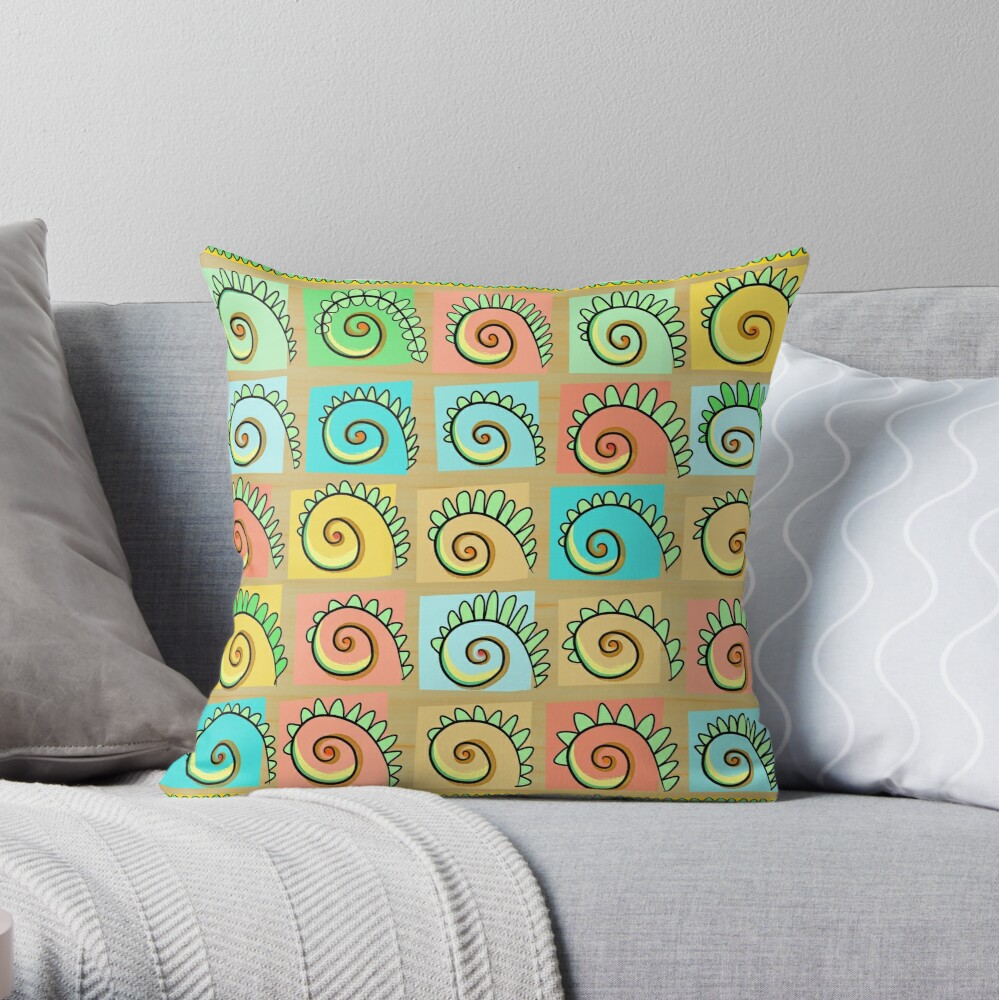 Fernishness Bold Throw Pillow