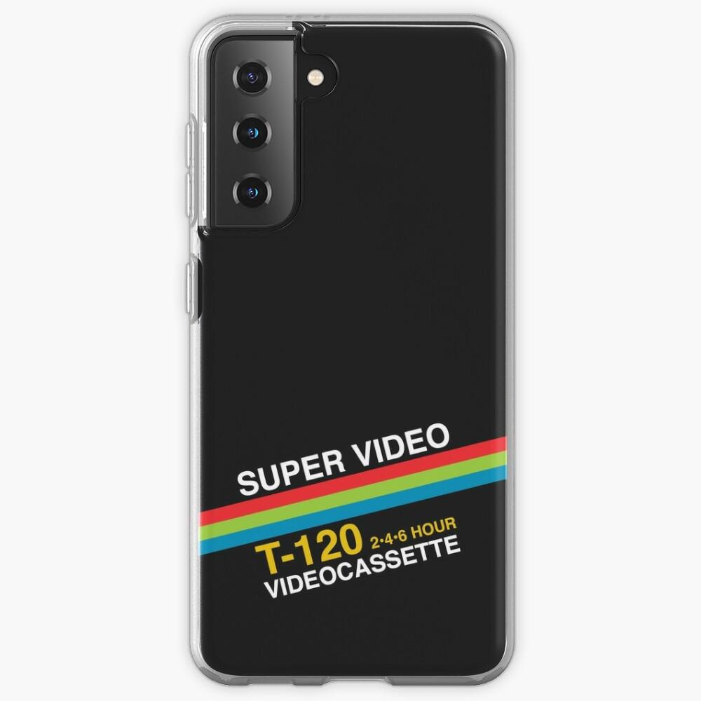 Super Video Cassette VHS Case & Skin for Samsung Galaxy