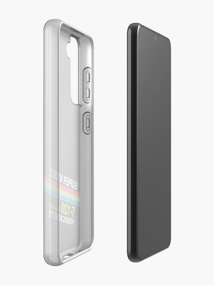 Alternate view of Super Video Cassette VHS Case & Skin for Samsung Galaxy