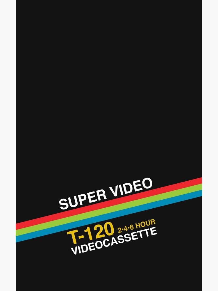 Super Video Cassette VHS by kaeru