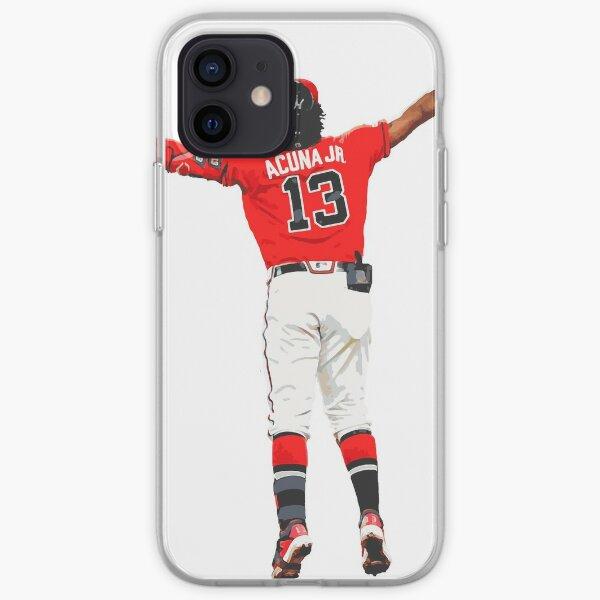 Ronald Acuna Jr - Baseball Art iPhone Soft Case