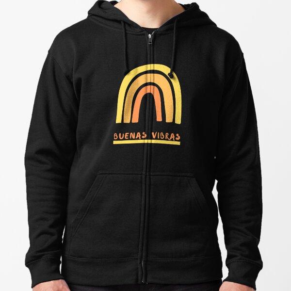 Buenas Vibras - Good Vibes in Spanish Zipped Hoodie