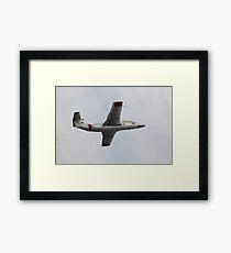 Soviet military aircraft in flight Framed Print