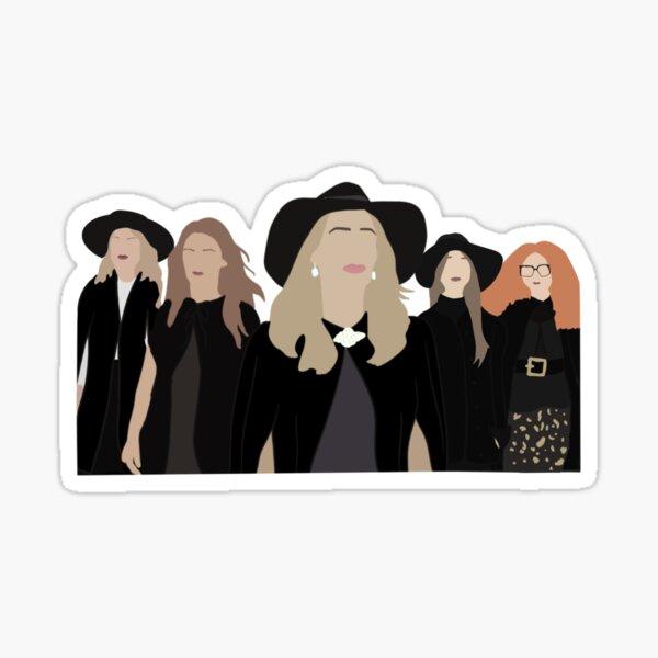 Witches vs apocalypse  Sticker
