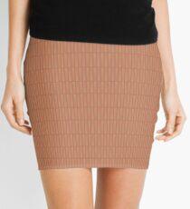 Nude Mini Skirt