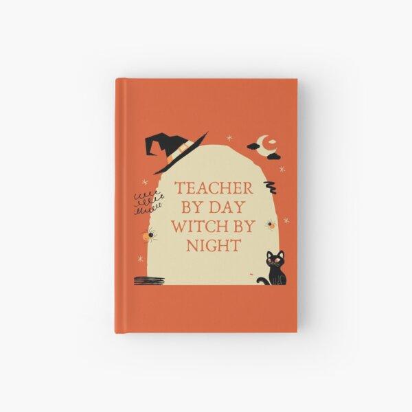 Lehrer bei Tag Hexe bei Nacht Notizbuch