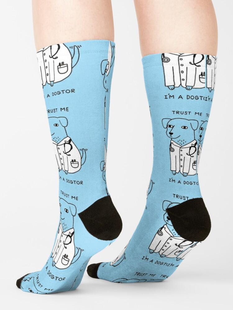 Alternate view of Dogtor Socks