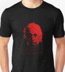 Albert Einstein - No problem can be solved ... Unisex T-Shirt