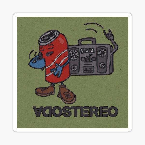 Soda Stereo Sticker