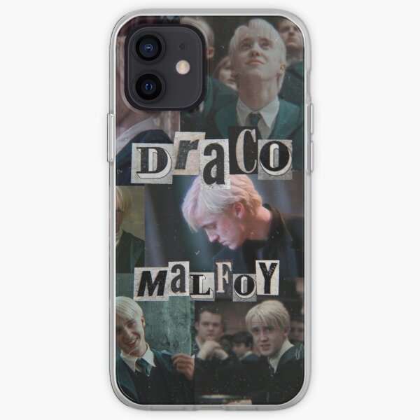draco malfoy collage iPhone Soft Case