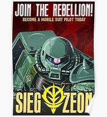 sieg-zeon Poster