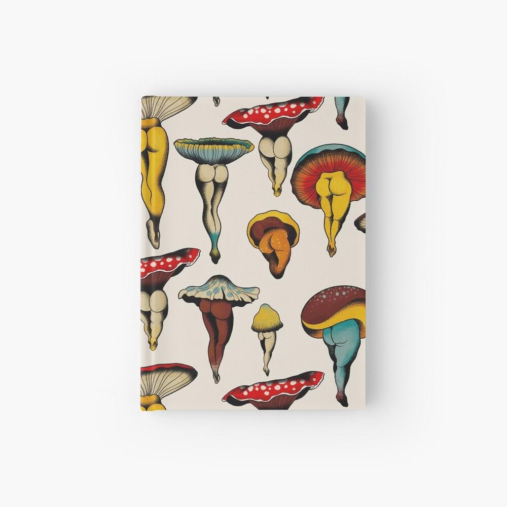 Sexy mushrooms tattoo flash Hardcover Journal