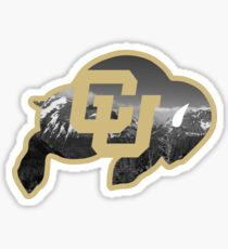 University of Colorado Boulder (mountains) Sticker