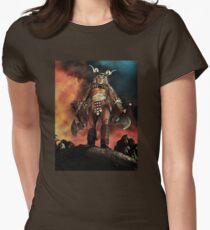 Warrior Version 1 Women's Fitted T-Shirt